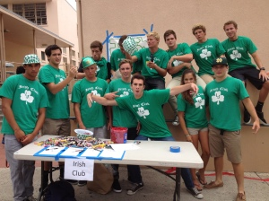The La Jolla High School Irish Club has raised $8,000 for PPI-NI through car washes and