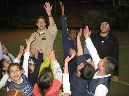 Michael Ott Volunteered with PeacePlayers in the Middle East and Cyprus